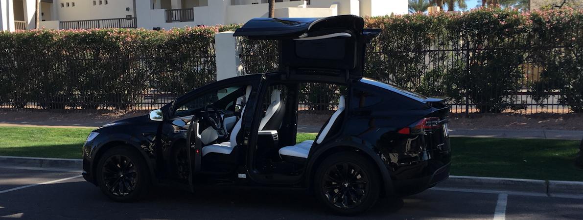 Model X SUV Black Ninja